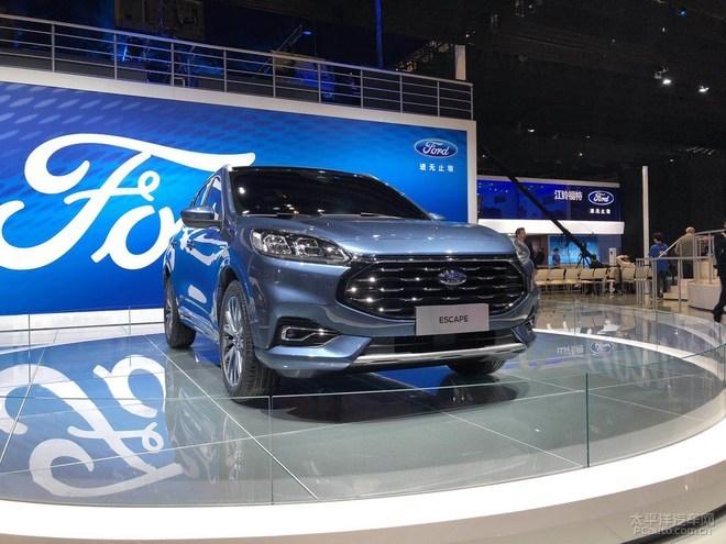 2019上海车展:长安福特全新SUV Escape