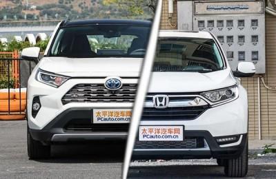 日系双雄叫座之争 丰田RAV4对比本田CR-V