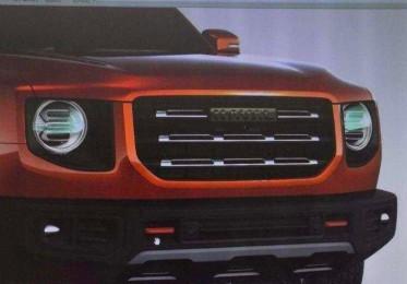 哈弗全新SUV车型效果图曝 光风格变化大